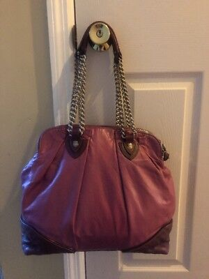 Marc Jacobs Silver Hardware Purple  Large Satchel Bag