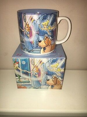 Boxed Disney Store exclusive Classics Mug Peter Pan Nana Tinkerbelle Coffee Cup