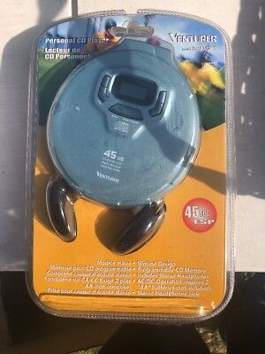 Rare venturer Personal cd player DM8702-45 Music Free Shipping Exclusive ()