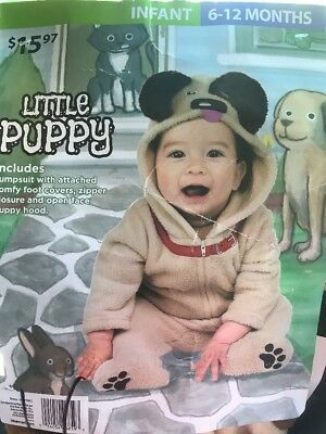 Little Puppy Costume Infant 6-12 Months Halloween Free Shipping