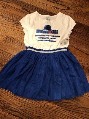 Female R2d2 Costume (Disney Parks Star Wars R2-D2 Girls Child Dress R2D2 Inspired X-Large GALAXY)