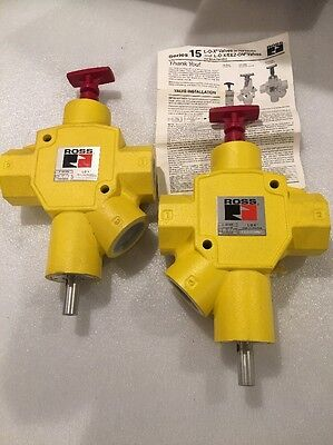 Ross L-o-x Energy Isolation Devices. Lot Of 2 No Reserve