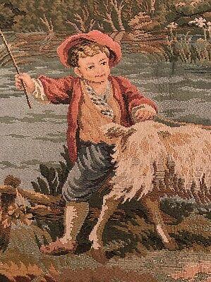 "Vintage Gobelien Tapestry 48(19"") x 70(271/2"")"