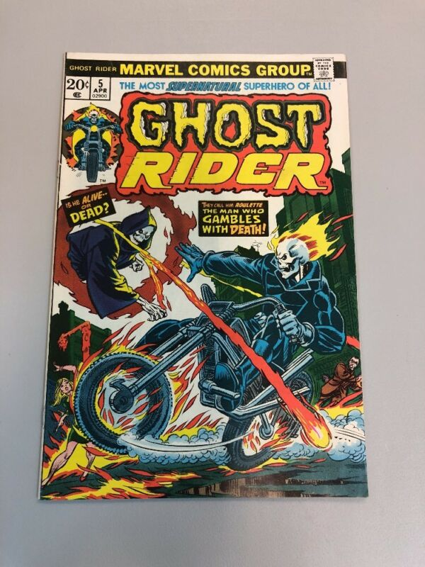Ghost Rider 5 Marvel Comics 1973