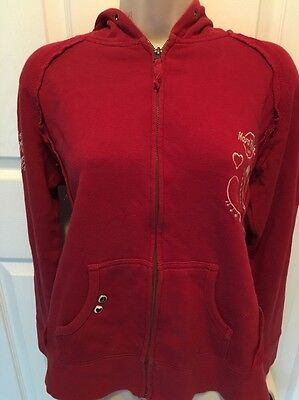 Hard Rock Cafe Girls Red Sweat Shirt Large