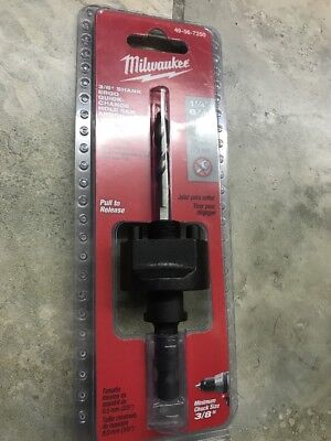 - Milwaukee 49-56-7250  Large Arbor, Snap Pin, 3/8 Hex
