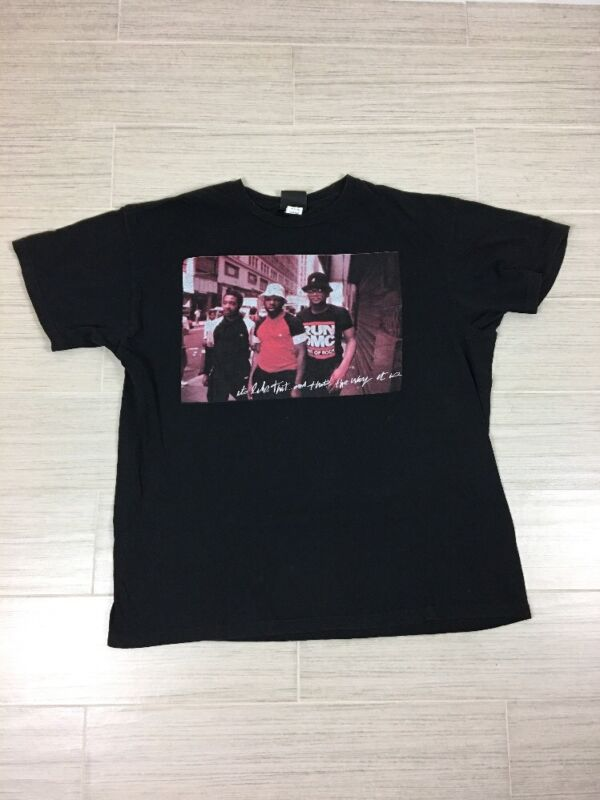 RUN DMC Tee shirt size XLarge Its like that and thats the way it is