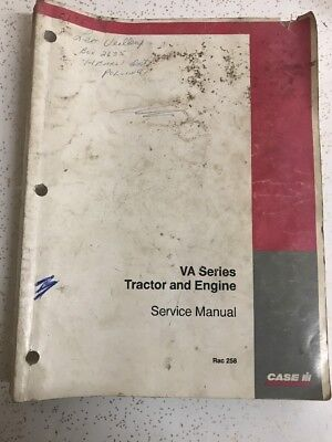 Used Case Tractor Engine Service Manual