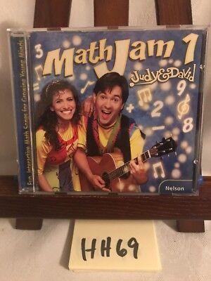 Judy   David  Mathjam Music Audio Cd Nelson Kid Learn Math Songs Counting  Hh69