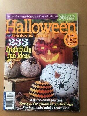Better Homes and Gardens HALLOWEEN TRICKS & TREATS Magazine 2012](Better Homes And Gardens Halloween Treats)