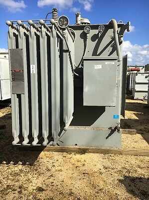 Westinghouse 2500 Kva 13800 Primary 480y277 Sec Substation Transformer Qty 4