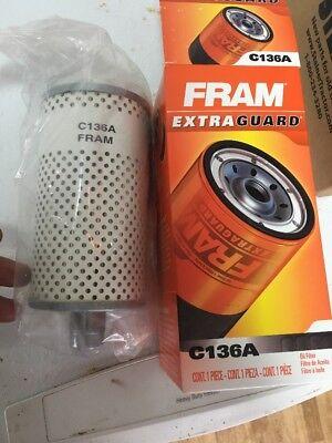 Ih Farmall A B H W6 New Fram C136a Oil Filter