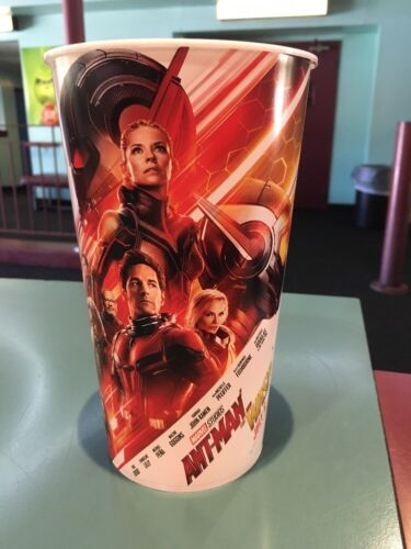 Ant-Man And The Wasp 44oz Plastic Theater Cup Brand New