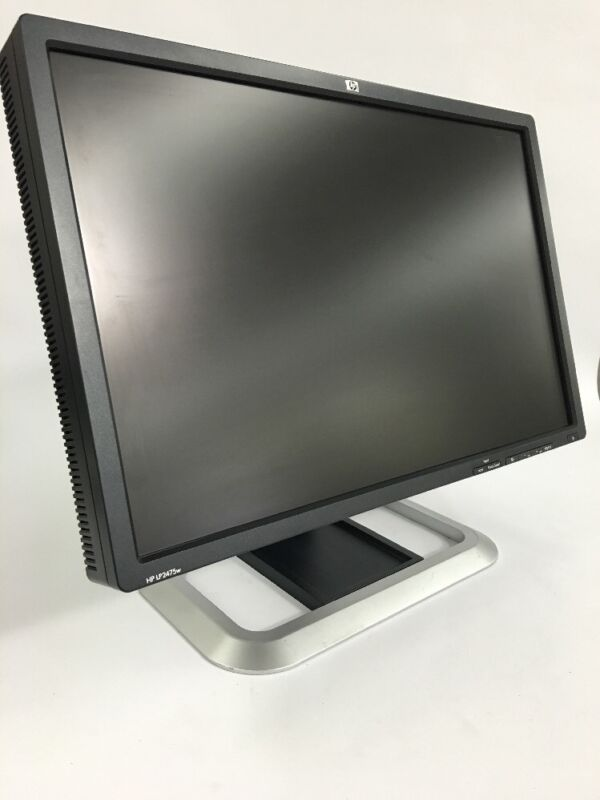 """HP LP2475w 24"""" IPS LCD Widescreen Monitor w/ Power Cord 