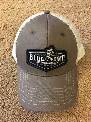 Brand New BLUE POINT BREWING COMPANY LONG ISLAND Baseball Hat **Adjustable