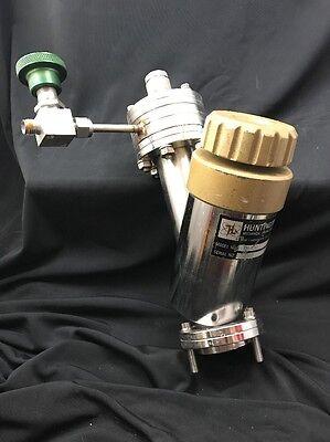 Huntington High Vacuum Research Chamber Model Es-150 Shut-off Valve Atachmnts B8