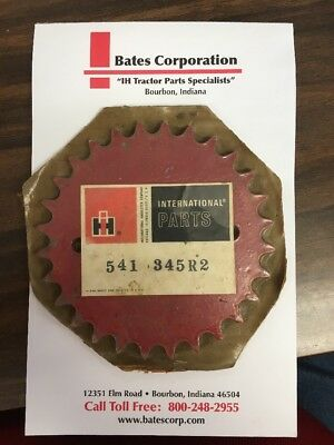 New Old Stock Ih International Grinder Mixer Sprocket 541345r2