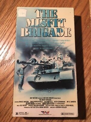 The Misfit Brigade Trans World Entertainment Vhs Oliver Reed David Carradine