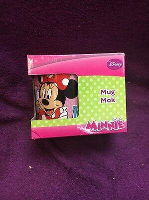 Kindertasse Tasse / Mug  Minnie Maus Becher Cartoon Motiv NEU OVP