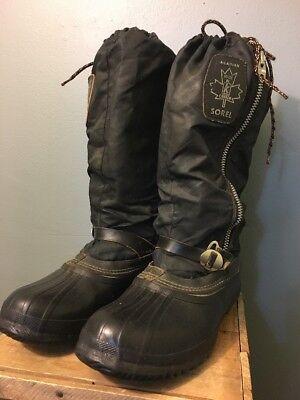Vtg 60er Jahre 70er Jahre Sorel Acadian Schnee Regen Stiefel Herren Us 10 - Sorel Regen Stiefel