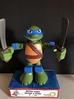 """Teenage Mutant Ninja Turtles TMNT TURTLE W/ WEAPONS LEONARDO 6"""" Figure 2015](Leonardo Ninja Turtle Weapon)"""