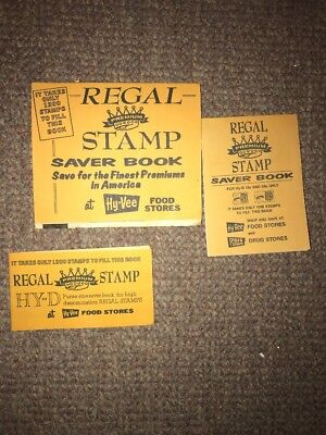 Hy Vee Grocery Store Regal Stamp Saver Book