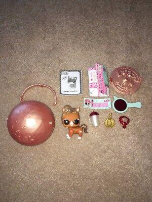 Lol Surprise Doll Pets The Pony Glitter Eye Spy Series 4 Ultra Rare