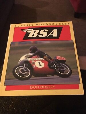 Classic Motorcycles BSA By Don Morley