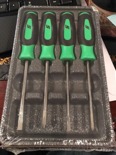 new snap on lime green 4 piece mini screwdriver set sgdx40bg new for sale in chester new. Black Bedroom Furniture Sets. Home Design Ideas