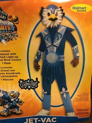 Skylanders Jet-Vac Lights Up Costume Boy M(8) - Jet Vac Costume