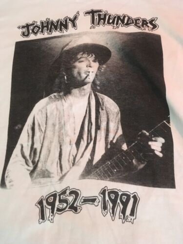 Vintage Johnny Thunders Memorial Concert Shirt 1991 Real Deal