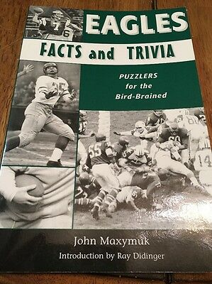 Eagles Facts and Trivia : Puzzlers for the Bird-Brained by John Maxymuk (2006, …