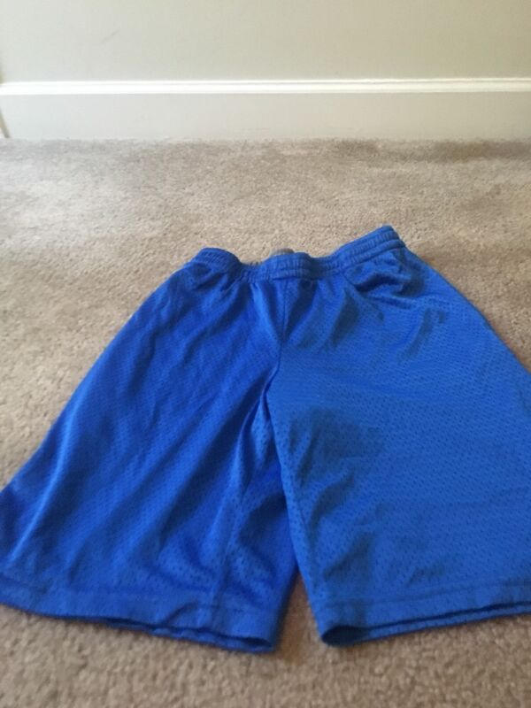 Starter Boys Athletic Lined Shorts Sz XL 14-16 Royal Blue