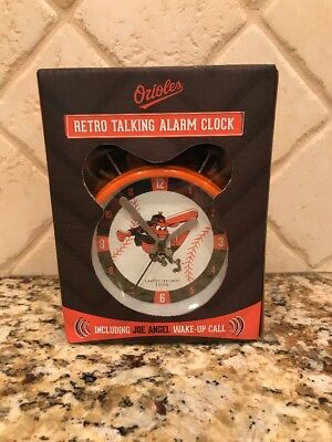 2018 Baltimore Orioles Retro Talking Joe Angel Alarm Clock Kids SGA 8/12/18 (Angel Alarm Clock)