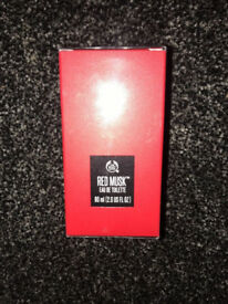 The Body Shop RED MUSK Eau De Toilette 60ml Fragrance Brand New Sealed