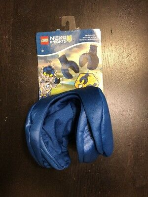 LEGO Nexo Knights Minifigure Hands Blue Gloves Child Costume NEW