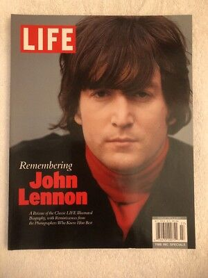 Life Magazine Remembering John Lennon A Reissue Of The Classic Life 2011