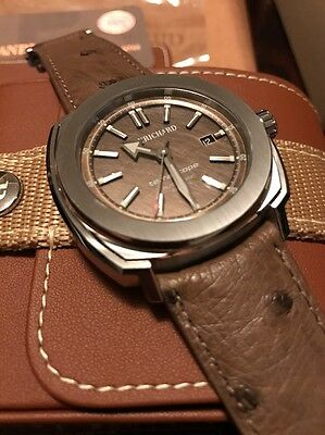 BNIB JeanRichard Terrascope Men's Automatic Watch 60500-11-203-QBBA Bronze Dial