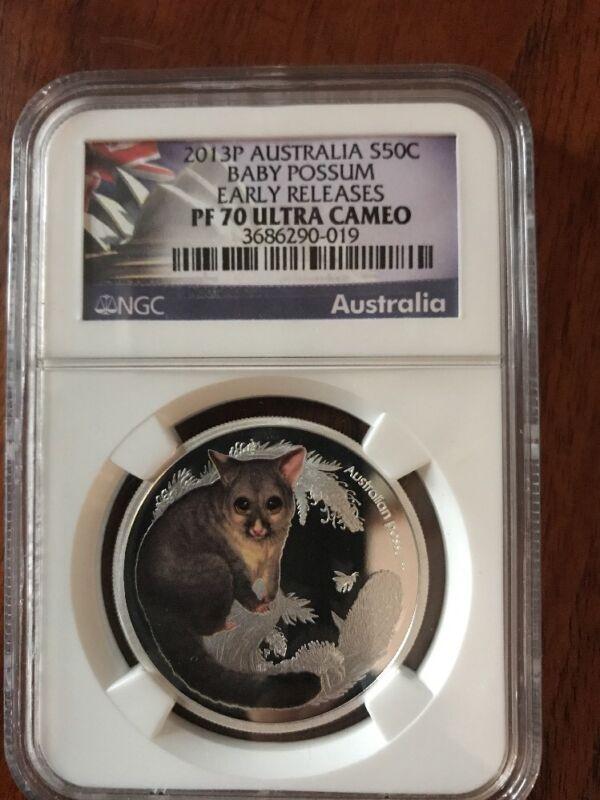 2012 P Australia PROOF Baby Kookaburra NGC PF70 1//2 oz Silver