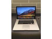 """Apple MacBook Pro 15"""" i7 2.2ghz Quad Core, 8GB Ram, 500GB HD, Radeon 6750 1GB"""