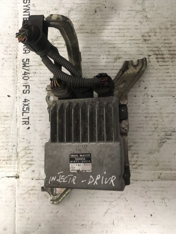 Lexus IS220D IS 220 D 2006 MK2 Driver Injector ECU 89871-20070 131000-1371