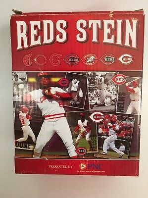 Cincinnati Reds Sga Stein   2013   Great Second Basemen Joe Morgan Pnc  Bank