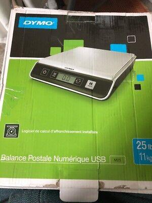 Dymo 1772059 M25 Digital Postal Scale 25lb Usb Connect Pcmac Compatible