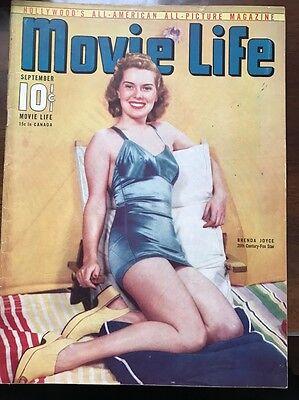 MOVIE LIFE SEPTEMBER 1940 BRENDA JOYCE JUDY GARLAND MAGAZINE