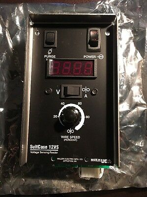 Miller 208011 Circuit Card Assembly Meter W Amps For Suitcase 12vs Wire Feeder