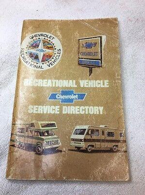 Chevrolet Motor Home Chassis Service Guide 1993 pb Chevy trucks RV repair
