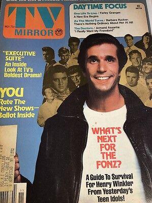 - Henry Winkler 2 TV Mirror Magazines 1976