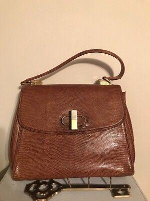 Vintage Gucci Lizard Rare Bag