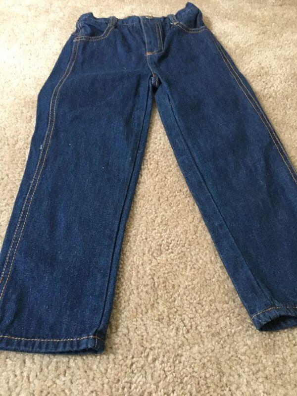 Kids Blue Denim Jeans Pants Bottoms Sz 4 Clothes