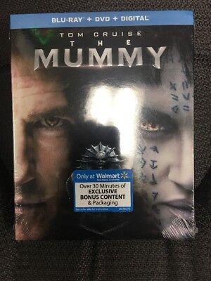 The Mummy  Tom Cruise  Blu Ray Dvd Digital  New W  Slip